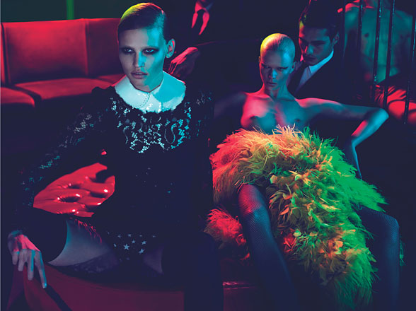 W Magazine: Red Lights Blue angels 6