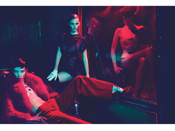 W Magazine: Red Lights Blue angels 8